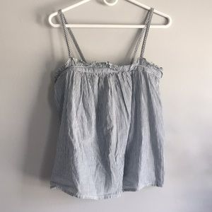 Madewell strap top!